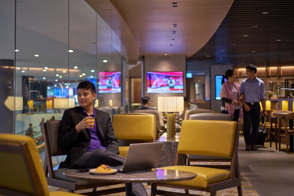 Lounge Bay of Plaza Premium Lounge