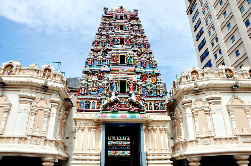 Sri Mahamariamman Temple is near the Petaling Street