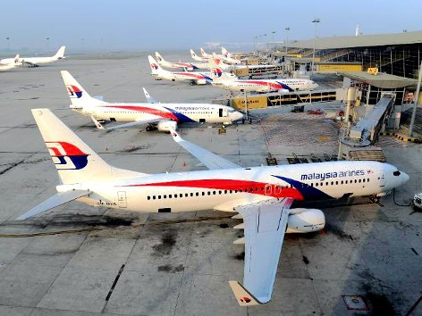 Airlines operating at KLIA