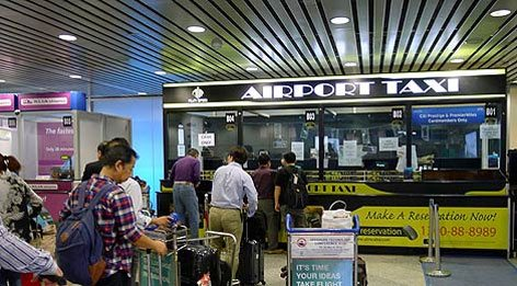 ticket counters, KLIA Limo Taxi Services