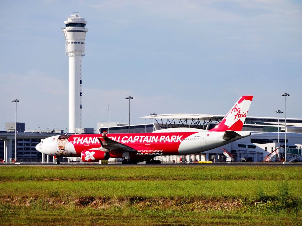 AirAsia flight and klia2