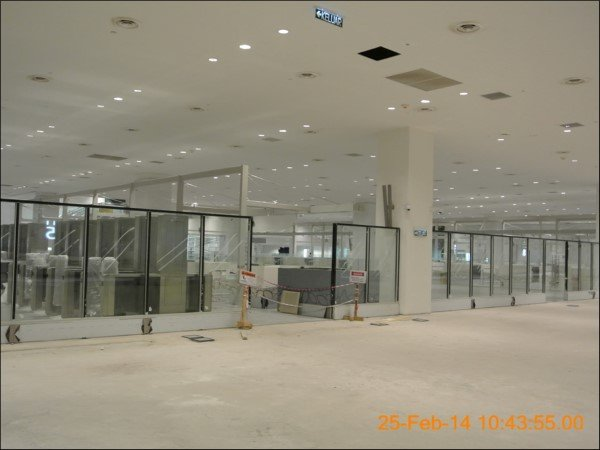 klia2, Construction picture as at 25 February 2014