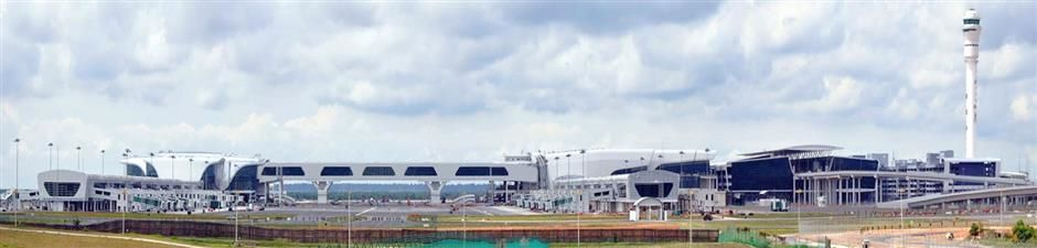 klia2, Construction picture as at 11 March 2014