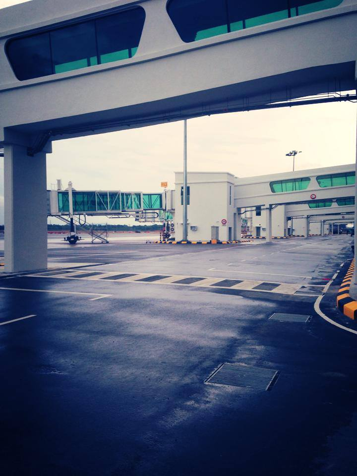 klia2, Construction picture as at 18 March 2014