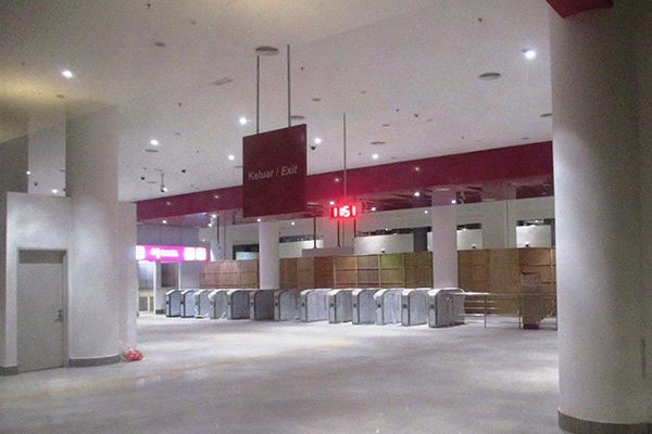 klia2, Construction picture as at 24 March 2014
