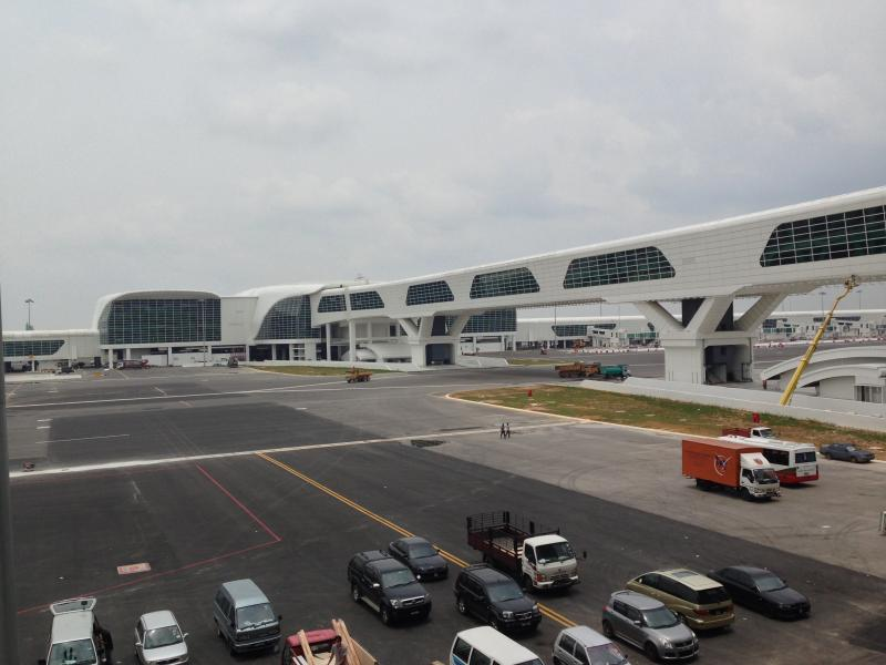 klia2, Construction picture as at 14 April 2014