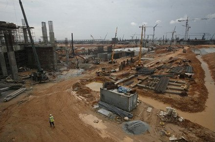 klia2 construction site, 29 Nov 2011