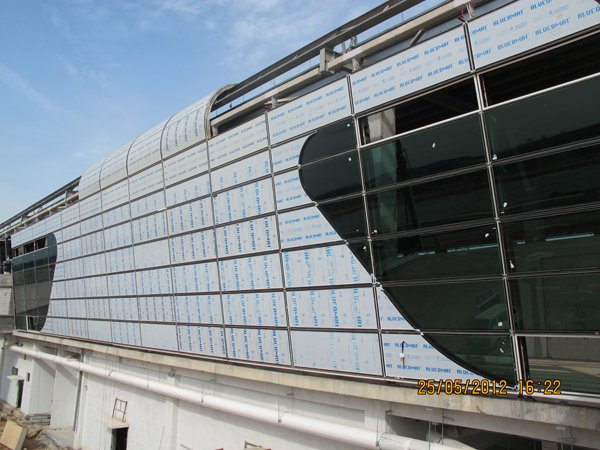 klia2, Construction update as at 25 May 2012
