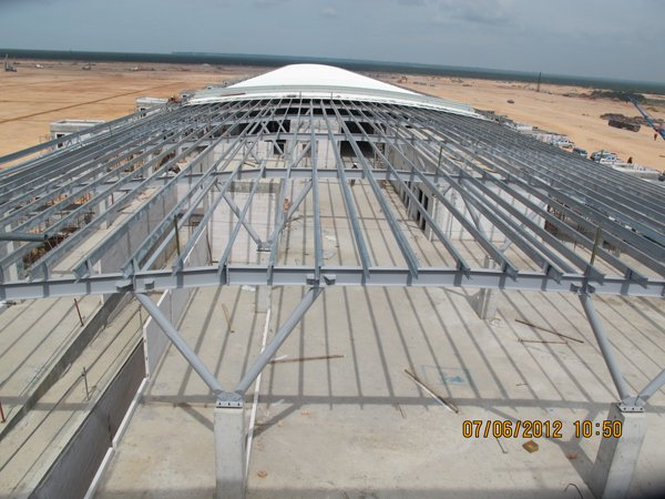 Roof work, 7 June 2012