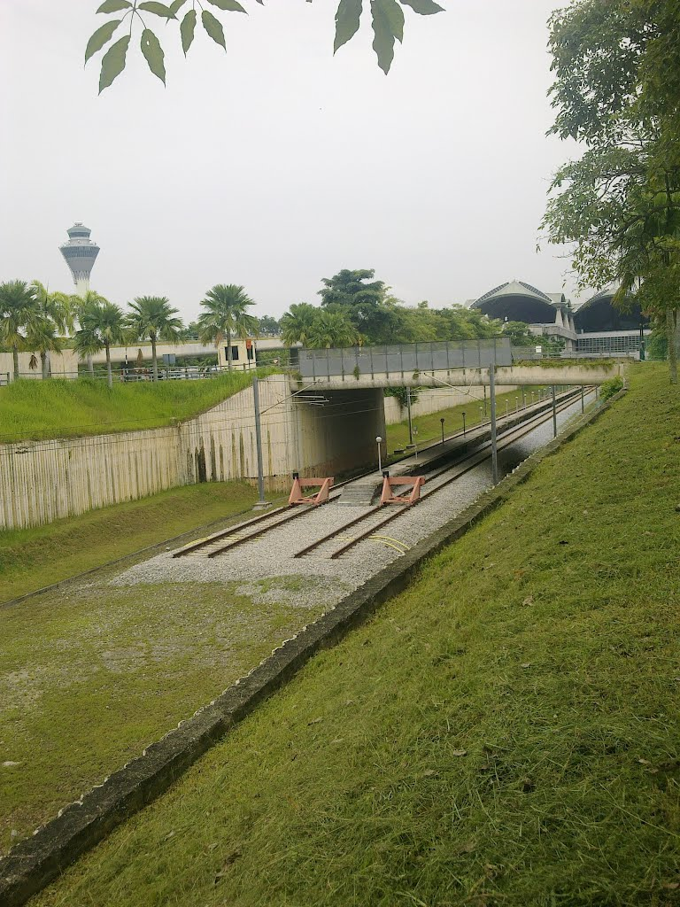 ERL extension work, 16 June 2012