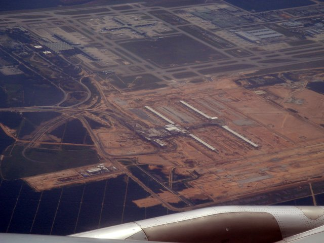 View of klia2 from a flight, 2 Oct 2012