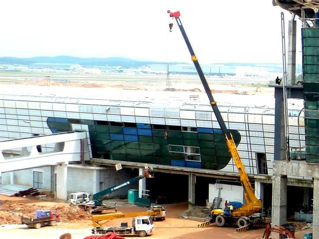 klia2, Construction update as at 27 Jan 2013