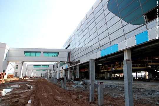 klia2, Construction update as at 4 Feb 2013
