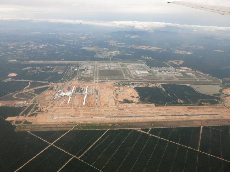 klia2, Construction update as at 13 Feb 2013