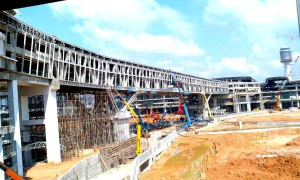 klia2, Construction update as at 21 Feb 2013