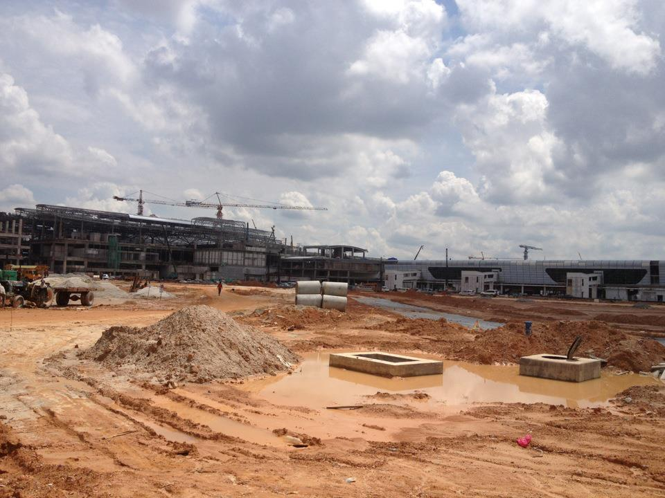 klia2, Construction update as at 23 Feb 2013