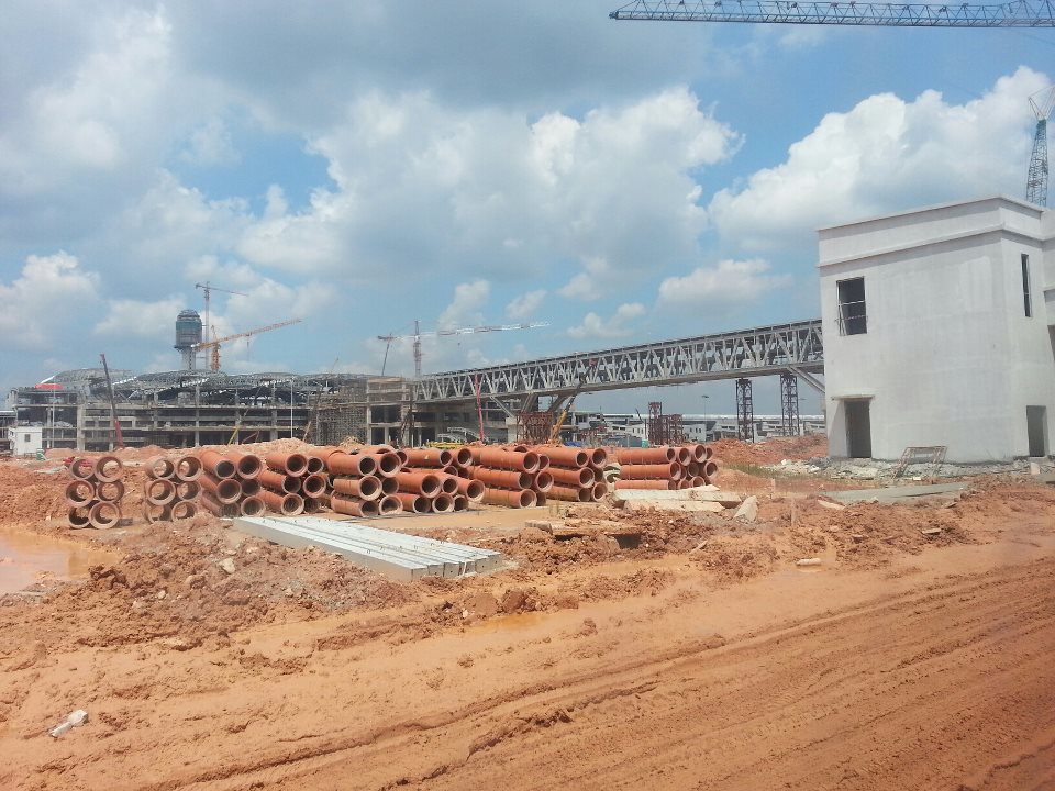 klia2, Construction update as at 24 Feb 2013