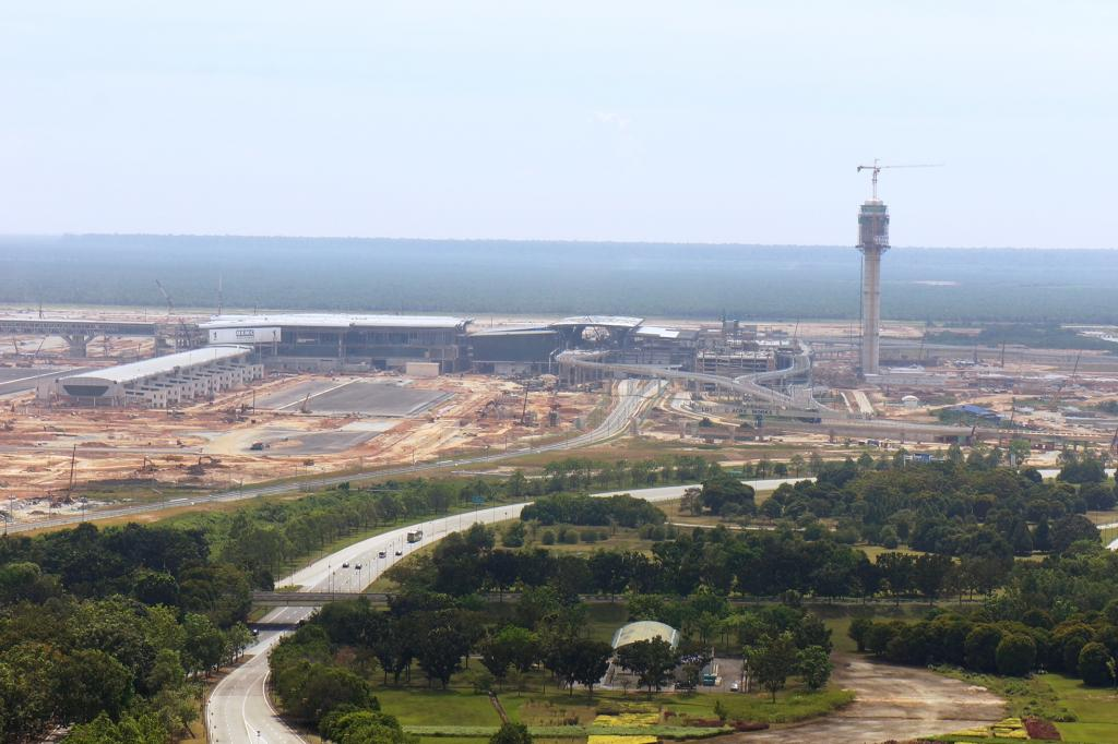 klia2, Construction update as at 2 Mar 2013