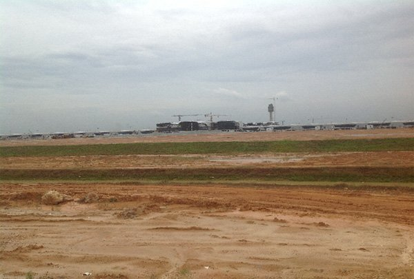 klia2, Construction update as at 12 Mar 2013