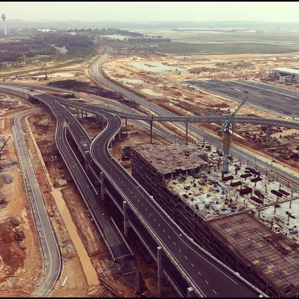 klia2, Construction update as at 13 Mar 2013