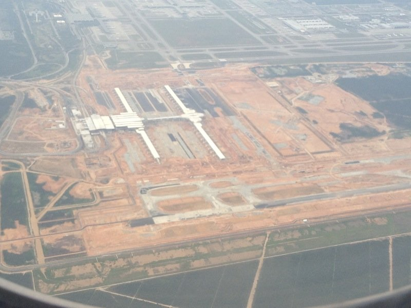 klia2, Construction update as at 7 April 2013