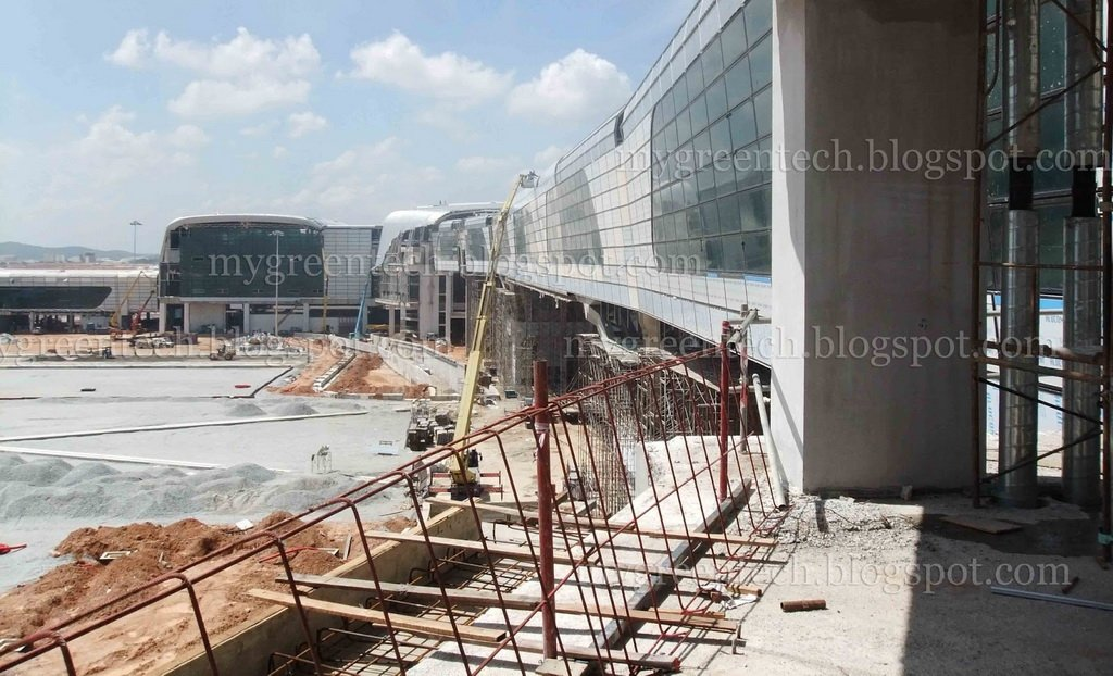 klia2, Construction update as at 17 May 2013