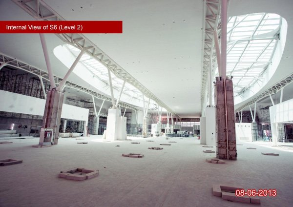 klia2, Construction update as at 8 June