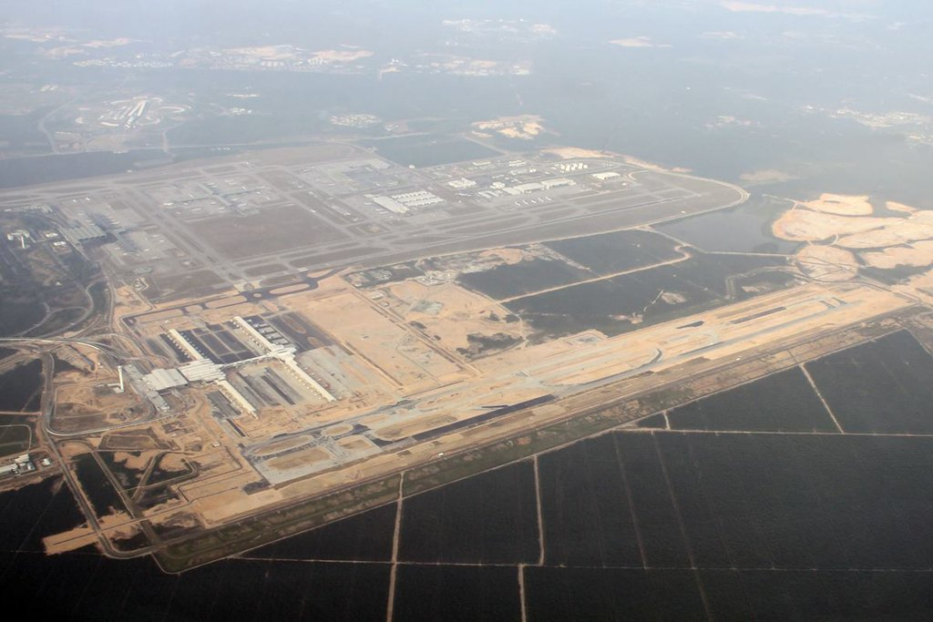 klia2, Construction update as at 14 June