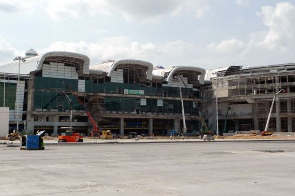 klia2, Construction update as at 6 July