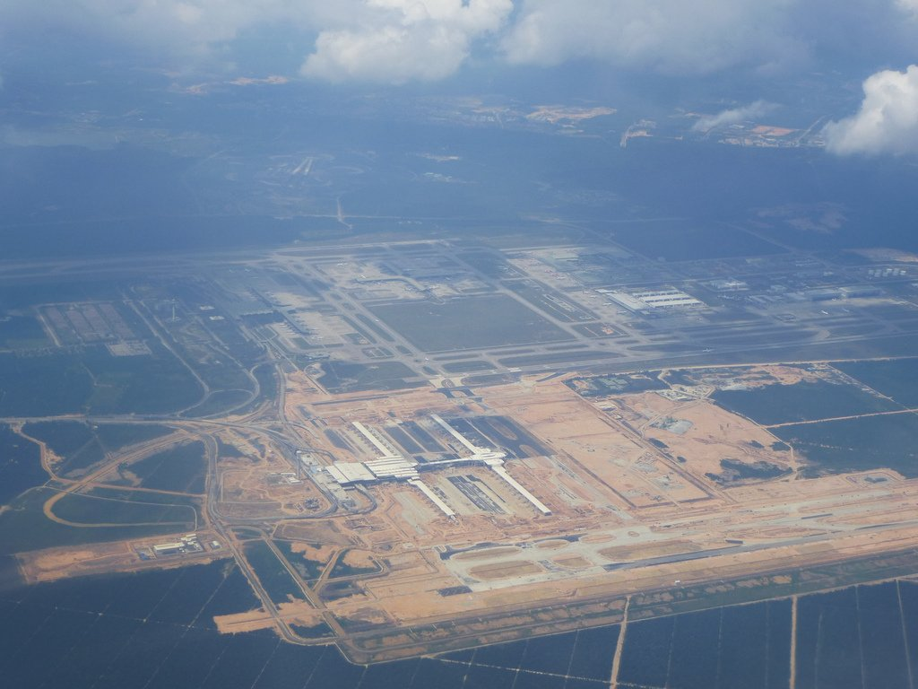 klia2, Construction update as at 18 July 2013