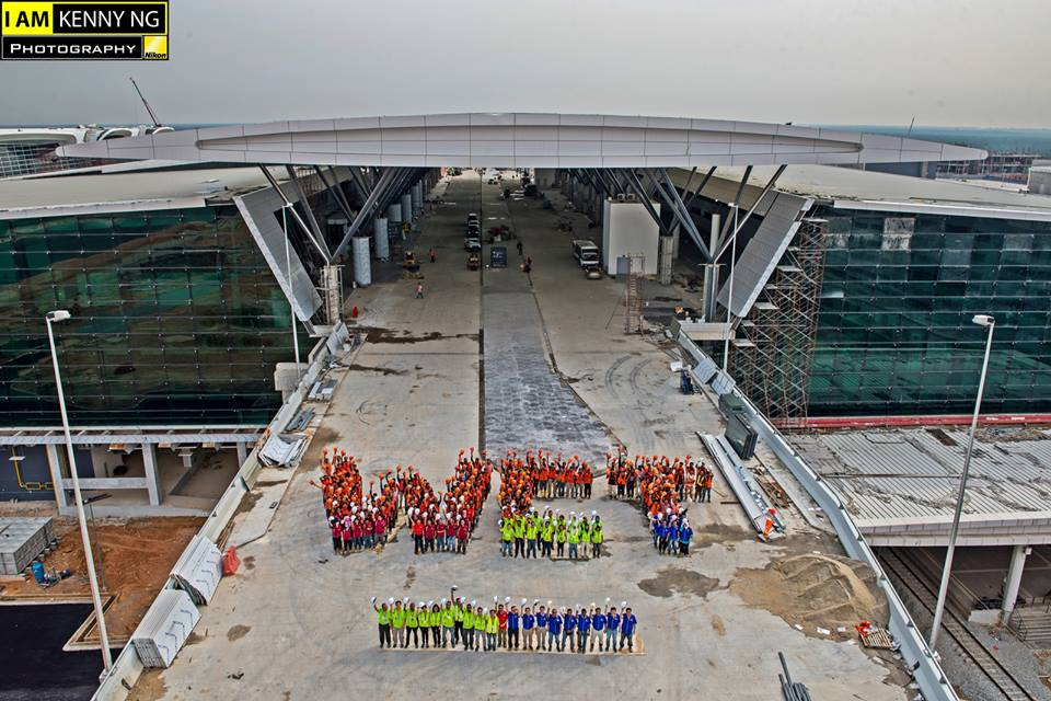 klia2, Construction update as at 29 July 2013
