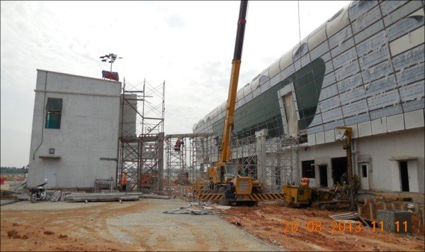 klia2, Construction update as at 20 August 2013