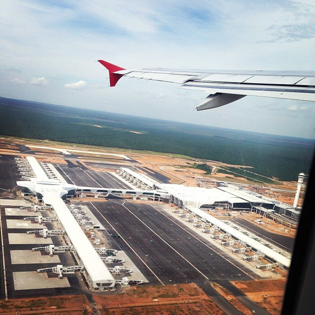 klia2, Construction update as at 9 October 2013