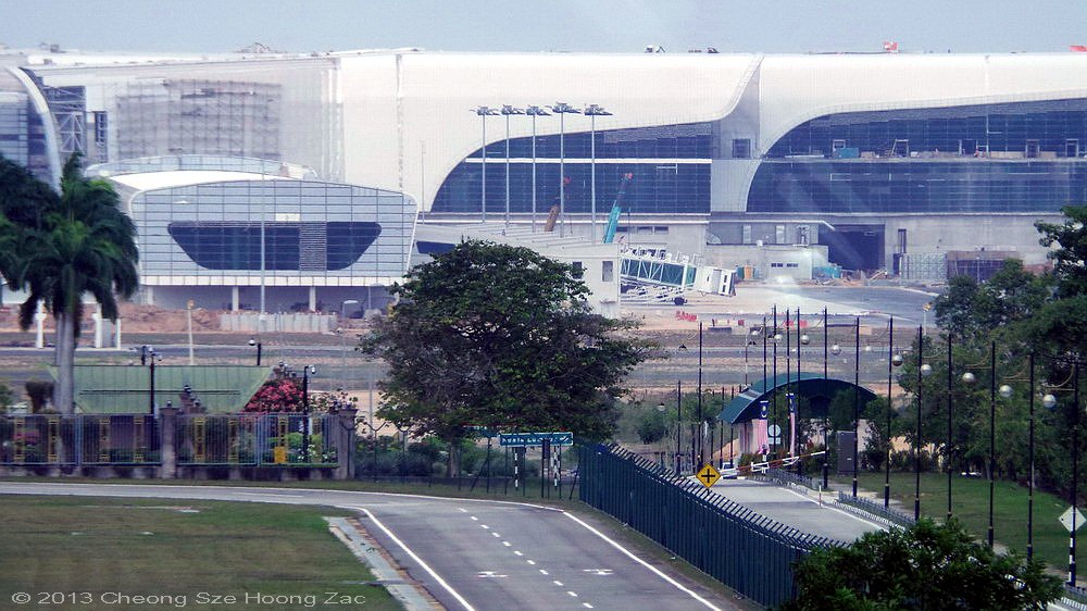 klia2, Construction update as at 12 October 2013