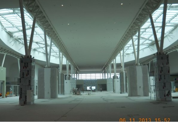 klia2, Construction update as at 6 November 2013