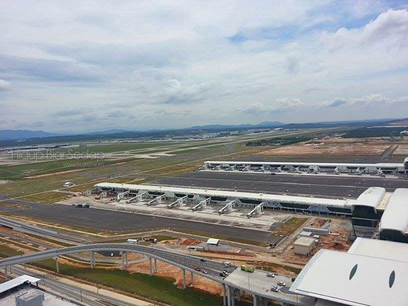 klia2, Construction update as at 1 December 2013