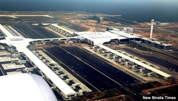 klia2, Construction picture as at 6 February 2014
