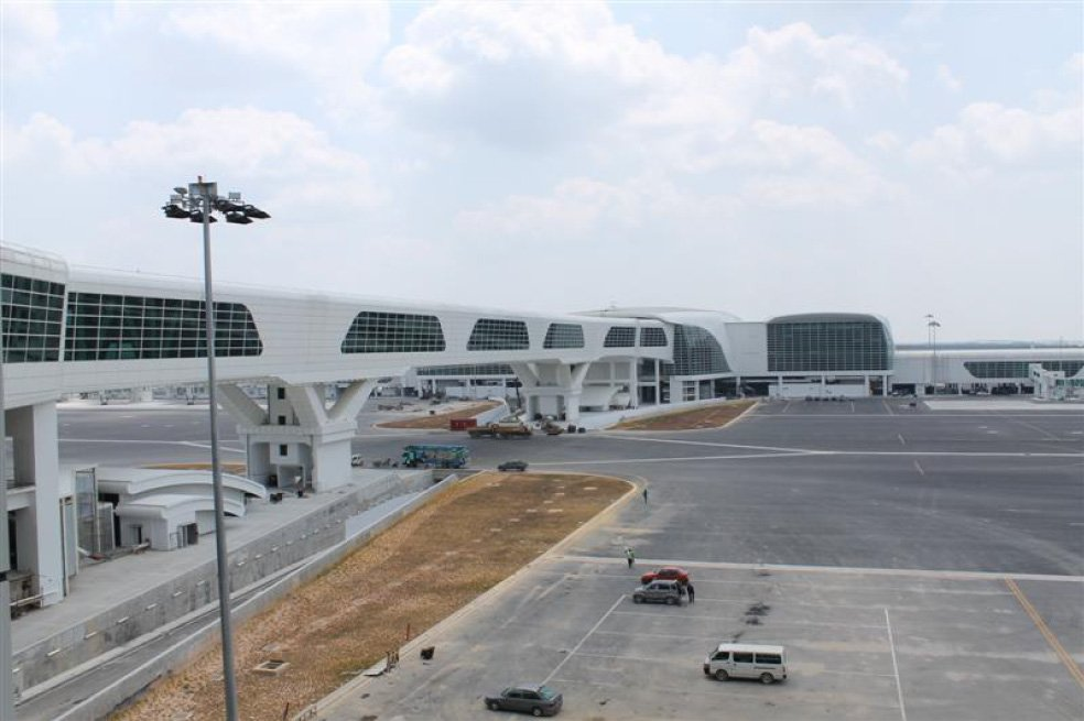 klia2, Construction picture as at 13 February 2014