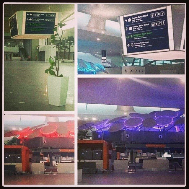 klia2, Construction picture as at 18 February 2014