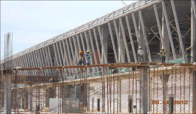 Pier work at klia2, 2 Dec 2011
