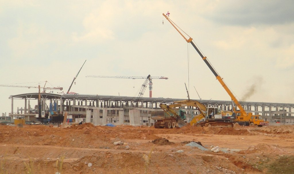 Construction update, 19 Feb 2012