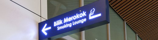 klia2 Designated Smoking Area