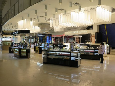 Eraman Duty Free Shop at Level 3, Satellite