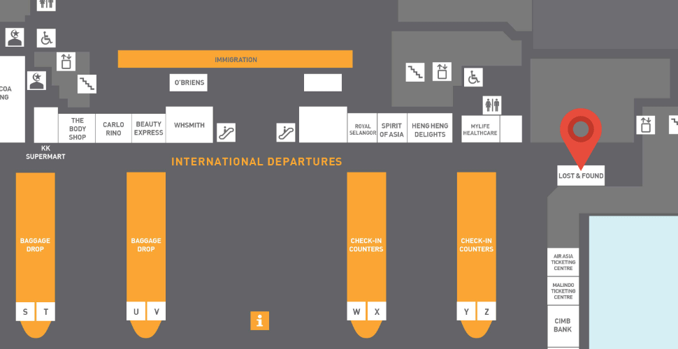 Facilities and services available at the klia2 – klia2 info