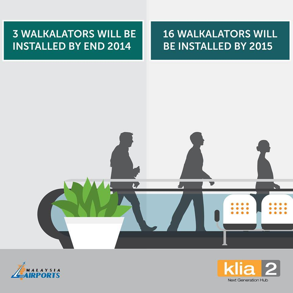 klia2 to get 19 more walkalators