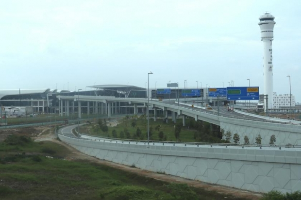 File picture showing the exterior of klia2 in Sepang.The cost for the airport that opened in May 2 last year was RM4 billion, which was estimated to be three times its initial cost. ?Picture by Saw Siow Feng