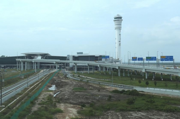 The exterior of low-cost carrier terminal klia2 in Sepang as photographed on January 7, 2014. ?Picture by Saw Siow Feng