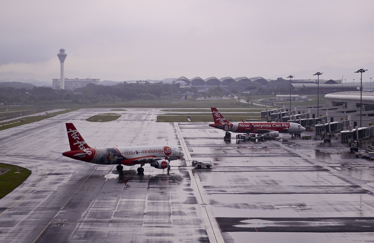 AirAsia flew 15.2 million passengers through klia2 in its first year of operation but the airline has complained that partial resurfacing of the airport has not solved its sinking problems. ?The Malaysian Insider file pic, July 27, 2015.