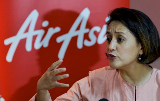 AirAsia Berhad chief executive officer Aireen Omar during media briefing at Sepang on June 21, 2016. ?Sunpix by Ashraf Shamsul