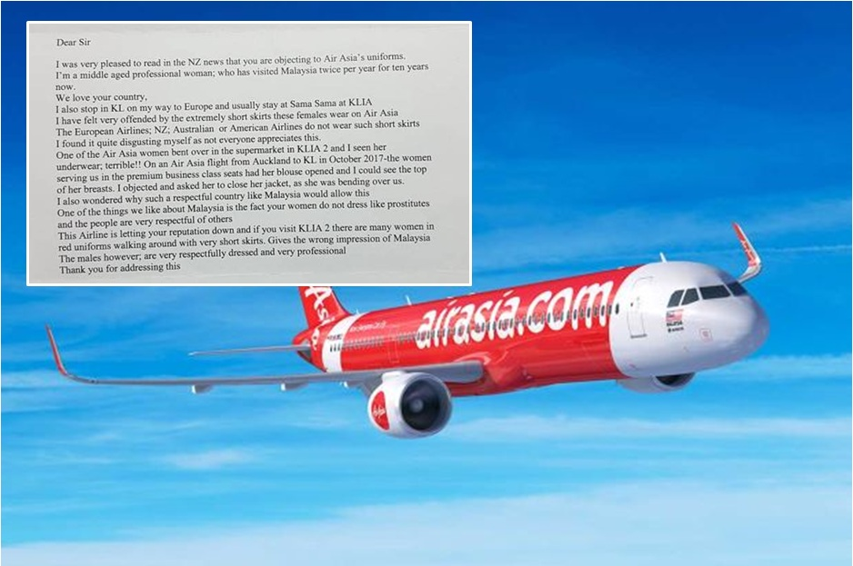 Letter to AirAsia